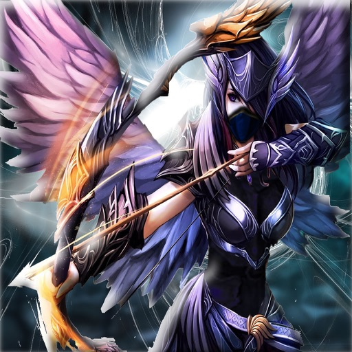 Angry Angel Arrow Dragon - Warriors of Secret Universe Battle iOS App