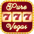 Pure Vegas - Real slot machines & Casino classic games. Spin and Win in the best slots tournaments! icon