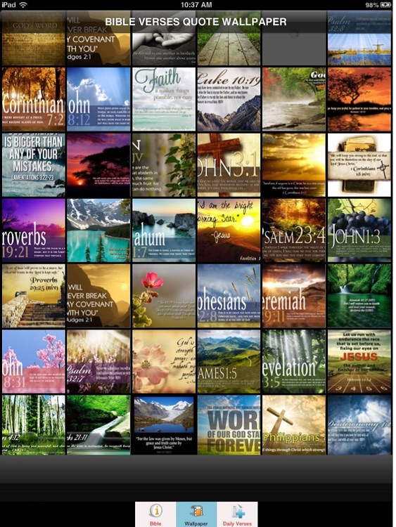 Bible Verses Bible Quote Wallpapers & NIV Bible by Janice Ong