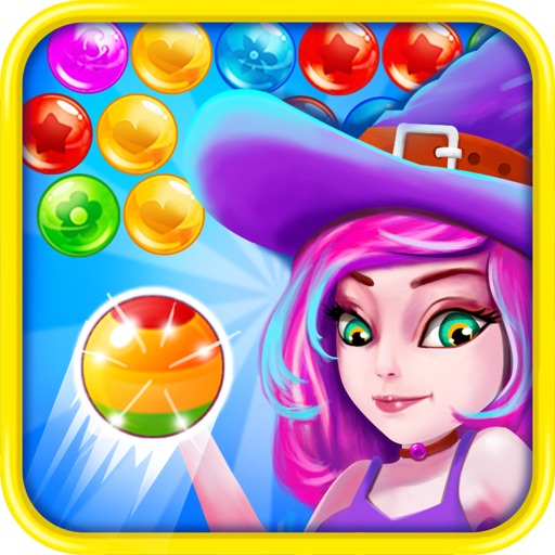 Witch Attack Ball: Amazing Bubble Shooter Adventure iOS App