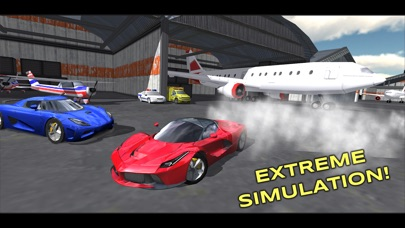 Screenshots of Extreme Car Driving Simulator Free for iPhone