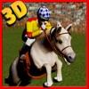 Meine Reiten Derby - Werden Pferd Meister in einem echten Pferdezaun Springturnier