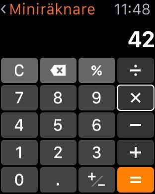 Miniräknare kalkylator online och gratis