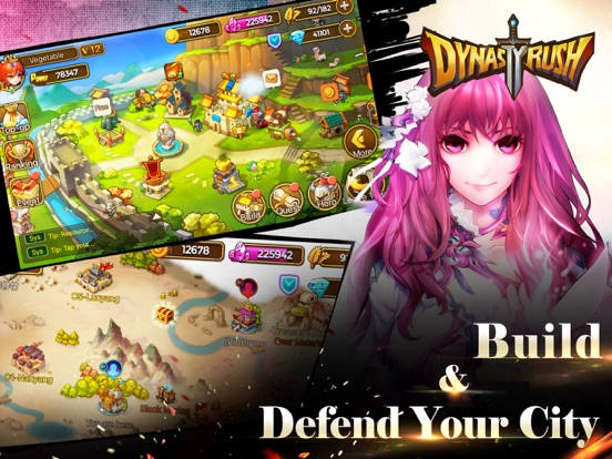 Скачать игру Dynasty Rush - Three Kingdoms Clash