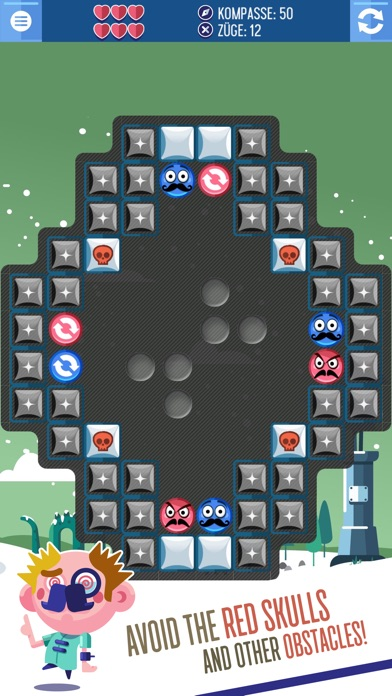 Mustache Bros: Escape from Puzzle Island Screenshot