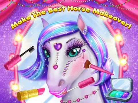 Скачать игру My Lovely Horse Care – Makeup, Dress Up and Hairstyle