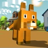 Blocky Fox Craft Simulator 3D Full game for iPhone/iPad