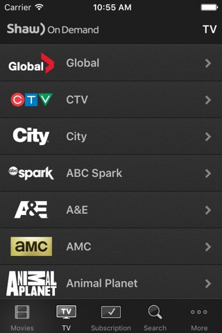 Shaw On Demand Search screenshot 3