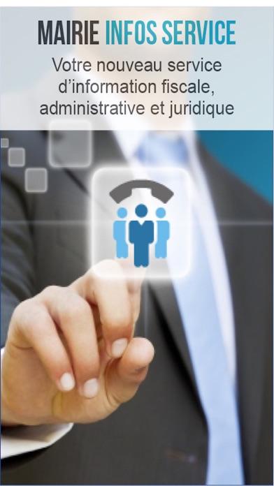 Capture d'écran de Mairie Infos Service2