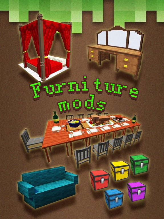 Furniture Mod Video Guide Pocket Wiki Game Tools For Minecraft Pc Edition On The App Store