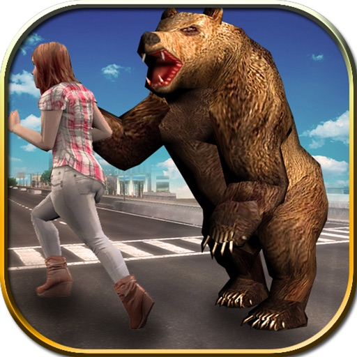 Wild Bear Attack Simulator iOS App