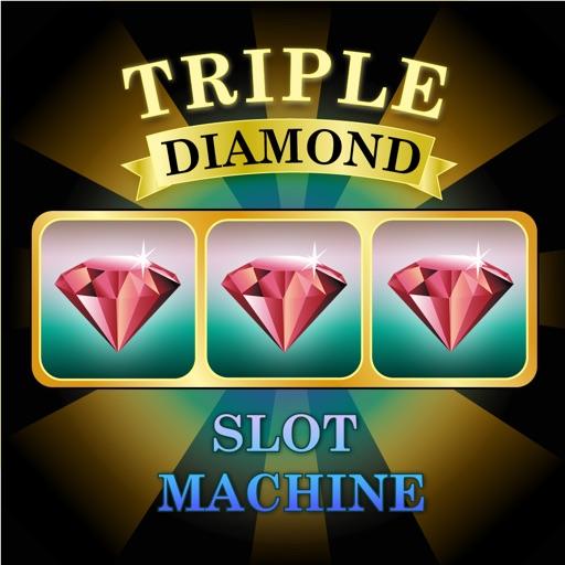 Triple Diamond - Slot Machine Free iOS App