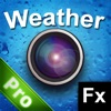 Weather FX Pro - Instant Rain, Sun, Rainbow, Cloud, Snow, Stars by PhotoJus