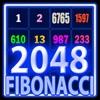 2048 Neon Glow Fibonacci