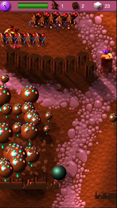 SQUISHBALL: CHOCOLATE WARS Screenshot