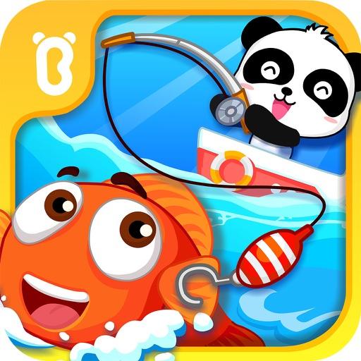 宝宝钓鱼-宝宝巴士-一起抓鱼,捕鱼,认识鱼,学习动物吧