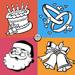 Carte de voeux Maker - Créer Salutations, mariage, vacances, cartes d'anniversaire