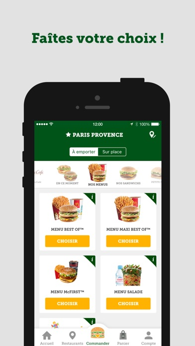 download McDo France apps 4