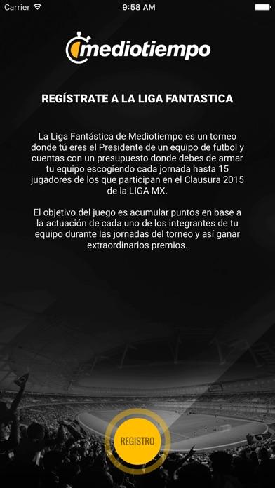 Liga Fantástica Mediotiempo Screenshot on iOS