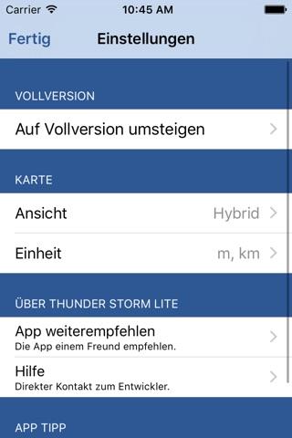 Thunder Storm Lite - Distance from Lightning screenshot 3