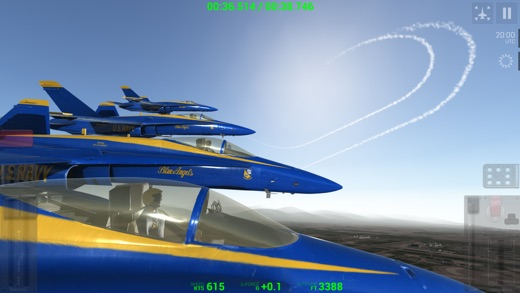 Blue Angels: Aerobatic Flight Simulator Screenshot
