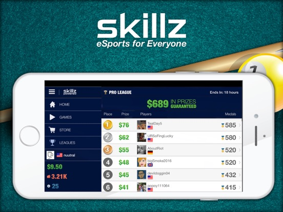 Real Money Pool Win Cash With Skillz On The App Store