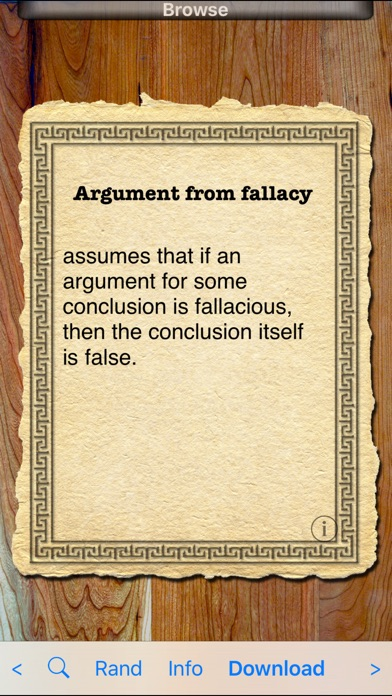 arguments from silence