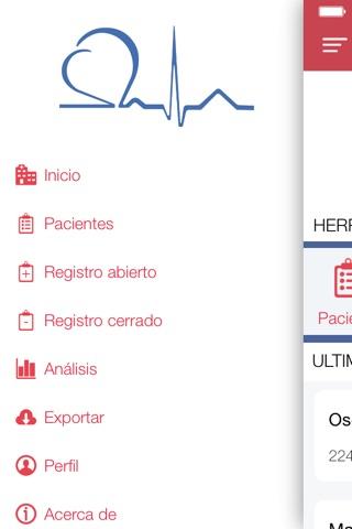 Red CardioLatina screenshot 2
