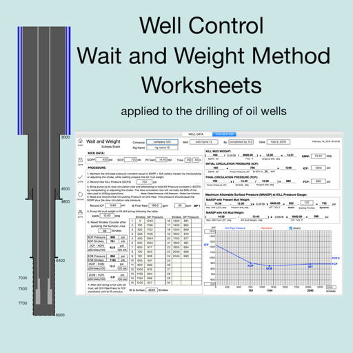 Wait and Weight Worksheets
