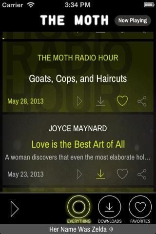The Moth screenshot 1