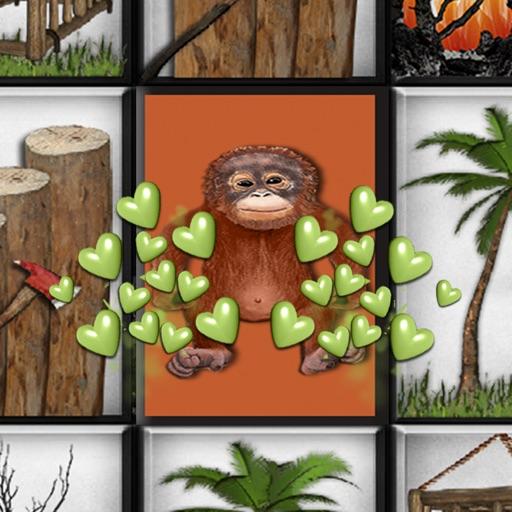 Touch the Orangutan iOS App
