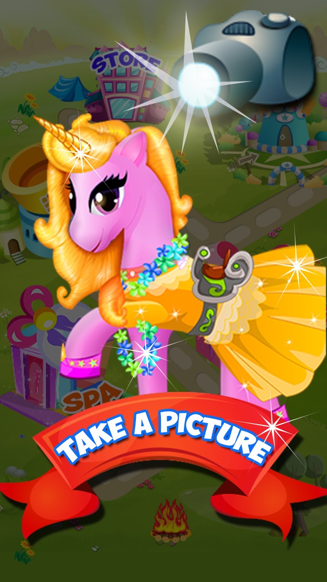 download Pony Care Resort - Pretty pony dress up and princess spa & salon game appstore review
