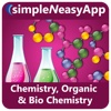 Chemistry, Organic Chemistry and Biochemistry - A simpleNeasyApp by WAGmob chemistry research topics