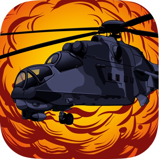 Angry Combat Helicopter PRO - Mission: Metal Storm Strike iOS App