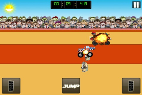 Monster Jam - Dirt Track Truck Racing Game Free screenshot 3