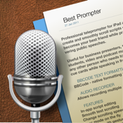 Best Prompter - teleprompter icon