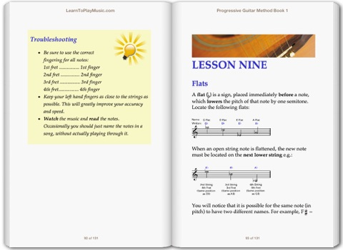 progressive guitar method book 1 free