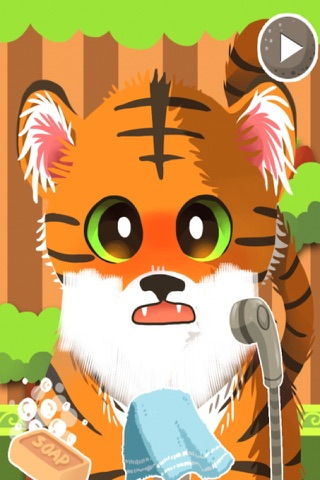 A Baby Zoo Animal Shave & Spa Salon - eXtreme Makeover Style Game screenshot 1