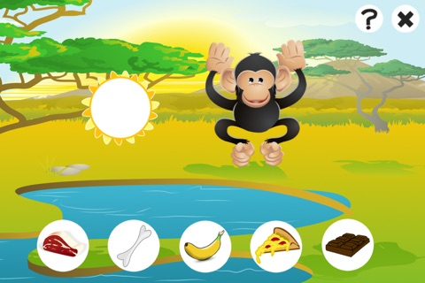 Awesome Feed-ing Happy Wild Animal-s Kid-s Game-s: Free Interactive Challenge About Good Nutrition screenshot 3