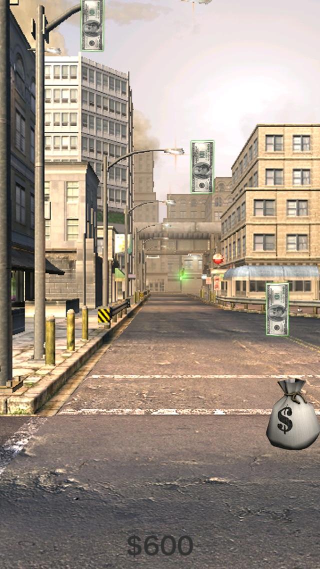 Дождливый Зарплата День (Rainy PayDay) - Играть бесплатное деньги игра, где вы должны быть очень быстрой Разбогатеть!Скриншоты 3