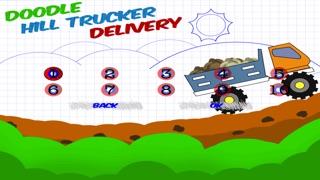 落書きの丘のトラック運転手 配信 - 無料ゲームをシュミレーションのスクリーンショット1