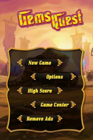 Gems Quest Free screenshot 1