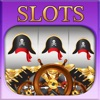 AAA Pirate Slots Casino Master of Caribbean - Blackjack 21, Roulette, Poker & Rolling Dice Games