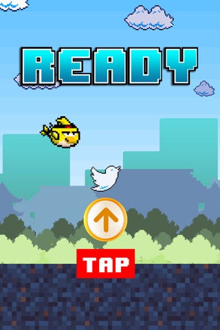 Birdie Fly Away - fly through pipes and have fun screenshot 3