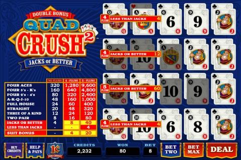 Quad Crush Squared Double Bonus screenshot 3
