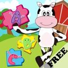 Granja Animal Puzzles - Juegos para la Educación Preescolar de aprendizaje para niños y los niños gr icon