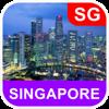 Singapore, Singapore Map - PLACE STARS