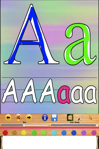 Kids Finger Painting - Learn Your Letters screenshot 1
