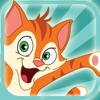 A Cute Catapult Kitty - Free Puzzle Games