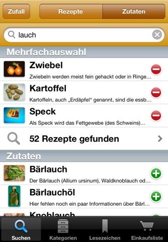 Rezepte screenshot 4